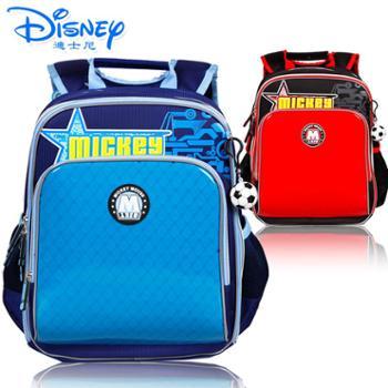 迪士尼小学生1-4年级英伦风减负双肩书包