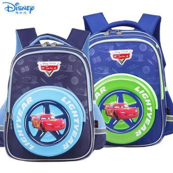 迪士尼麦昆男童1-3年级卡通双肩减负书包RB0078