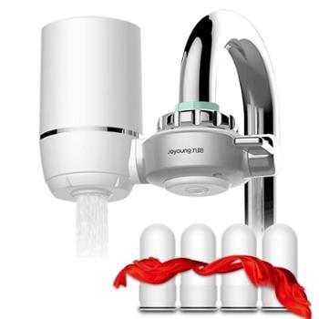 九阳(Joyoung)家用净水器水龙头过滤器滤水器JYW-T02一机4芯(两年装)