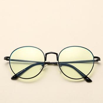 砾石防辐射防蓝光眼镜男女手机防疲劳平光镜电脑上网护目镜电竞游戏镜