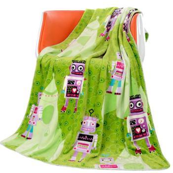 英国雅迪娜家纺超柔幼童毛毯云貂绒毯儿童毛毯 喜莱雅