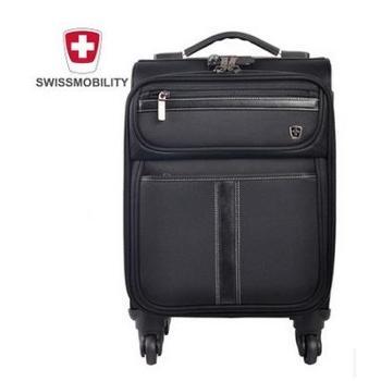 高端黑标商务拉杆箱行李箱20寸登机箱旅行箱 瑞士瑞动正品
