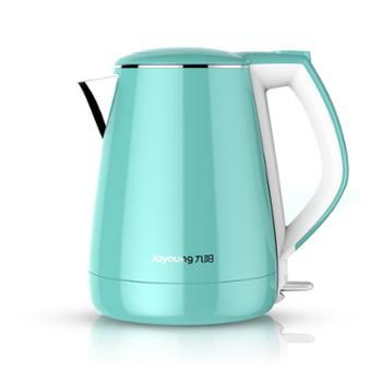 九阳 K15-F23电热水壶不锈钢电水壶双层防烫保温烧水壶