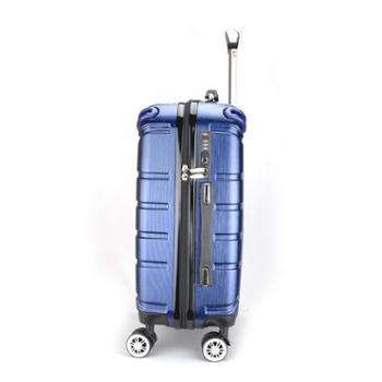 啄木鸟高端商务拉杆箱万向轮带杯架旅行箱GD2582-24L:宝蓝