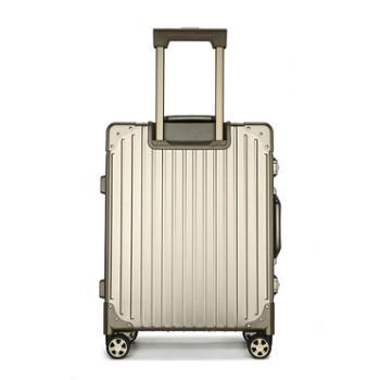恒源祥(HYX)24寸/20寸航空系铝镁合金拉杆箱HYX8033