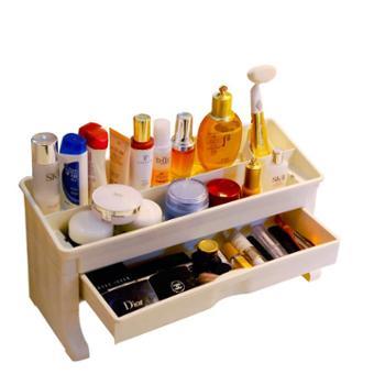宝优妮家庭创意化妆用品收纳盒 DQ-1401-1象牙色