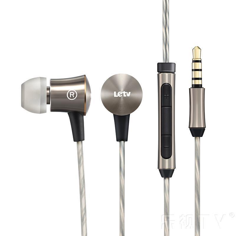 乐视入耳式线控耳机