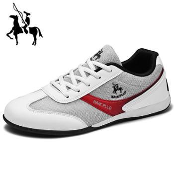 保罗男鞋2019款休闲鞋男士运动鞋子经典旅游鞋男士鞋