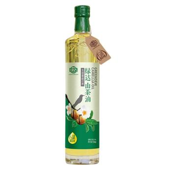 绿达6清新品冷榨山茶油750ml 一级FDA认证食用油