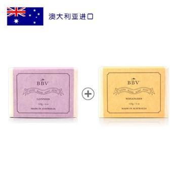 BBV澳洲原产天然薰衣草皂120g+BBV澳洲原产天然小麦皂120g