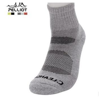 法国PELLIOT户外运动袜男女 排汗透气速干袜耐磨防滑登山徒步袜子