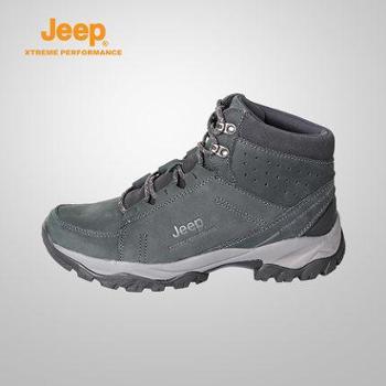 Jeep/吉普 秋冬男户外运动耐磨防水透气徒步登山鞋J662039089