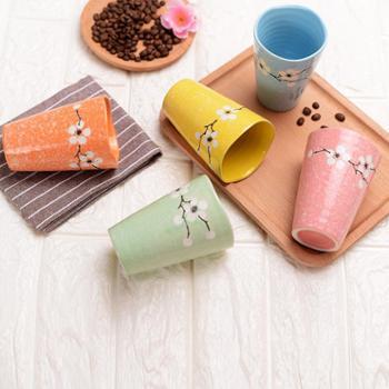 三生三世手绘雪花马克茶杯具陶瓷套装生日小礼物礼品情侣对杯