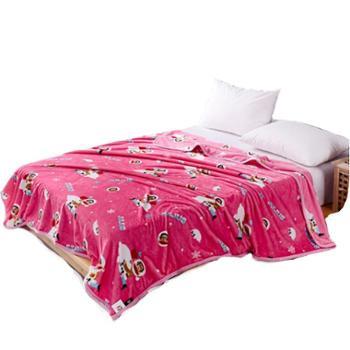大嘴猴(Paul Frank)床上用品 冰雪奇缘毯子