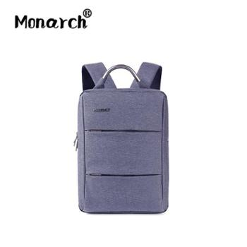 Monarch新款时尚双肩背包男背包商务电脑包旅行背包潮