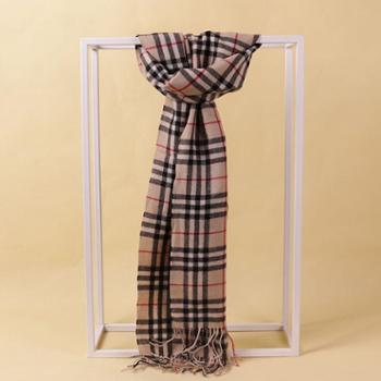 戎立特新款羊绒时尚格子披肩DSZ4742DX