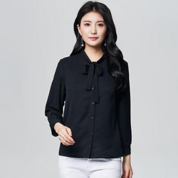 戎立特春夏女休闲女式衬衫纯色DW7321
