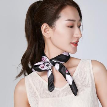 戎立特新款女士时尚小方巾GDY101