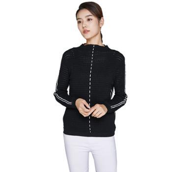 戎立特女士羊毛衫FW8121混纺