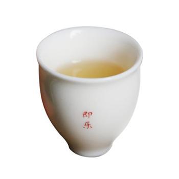 谁美德化中国白瓷茶杯功夫茶具玉瓷暖心杯纯白手工品茗杯单杯sjyw