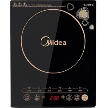 美的(Midea)WK2102T触摸式电磁炉(赠汤锅+炒锅)