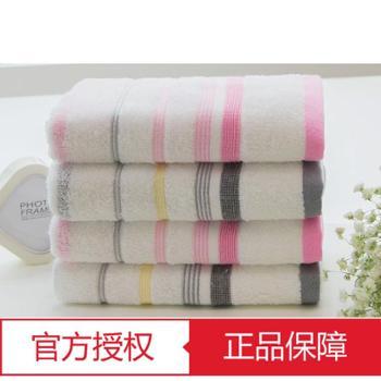 洁丽雅毛巾 6410 纯棉手帕强吸水舒适面巾 72X34 一等品