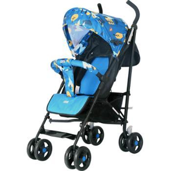 HD小龙哈彼婴儿推车可坐可躺折叠0-3岁推车高景观婴儿推车LD289