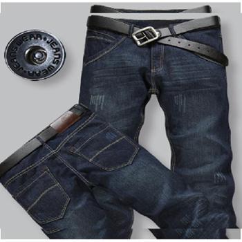 2014夏季薄款牛仔裤韩版正品休闲裤直筒裤大小码修身男裤