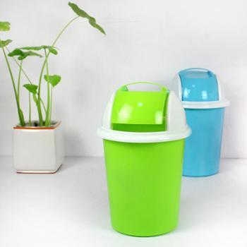 RUIYI 锐益 卡通垃圾桶 食品级材质环保无毒加厚塑料垃圾桶 时尚简约 使用寿命大于7年
