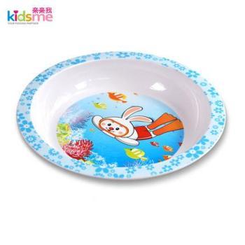 亲亲我婴儿自食碟喂食碟幼儿婴儿喂食碟饭碗餐具儿童用饭碟
