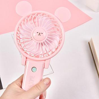 文理科潮物手持风扇 韩版卡通手持迷你风扇