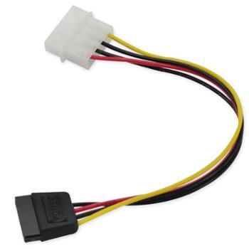 九晶D型4针转SATA串口硬盘电源线转接线适用于SATA接口/串口硬盘光驱刻录机