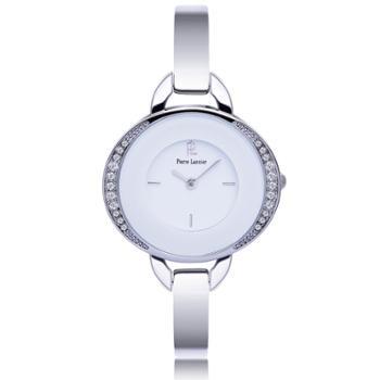 法国正品PIERRE LANNIER连尼亚 复古手链式镶钻女士石英手表 066K601