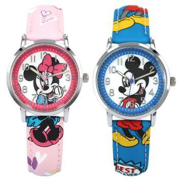 包邮 迪士尼儿童手表 男孩学生表女孩女生手表 潮流男童石英表14003