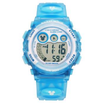 迪士尼儿童手表防水夜光多功能电子表运动男童电子表学生表MK-15030