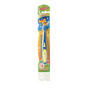 【进口包邮】德国Putzi宝儿滋软毛儿童牙刷乳牙刷宝宝训练牙刷