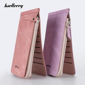 baellerry钱包女士长款多卡位拉链钱夹韩版手拿包女卡包
