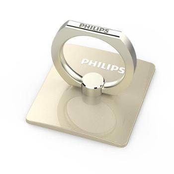 【10.10搜实惠】Philips/飞利浦指环支架手机通用懒人指环扣粘贴式平板支架