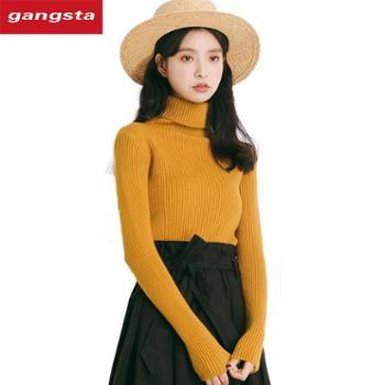 【gangsta】2018新款冬季套头毛衣厚款【千盛百货】M180