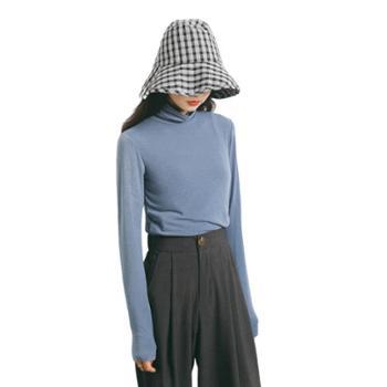 gangsta 秋冬韩版女装新款修身高领针织T恤F231