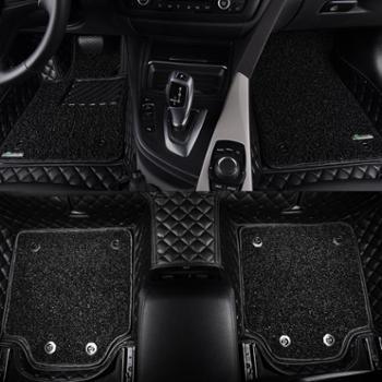 御马全包围脚垫3D大包围丝圈脚垫汽车脚垫宝马5系奥迪A4A6A8L各车型均可定制