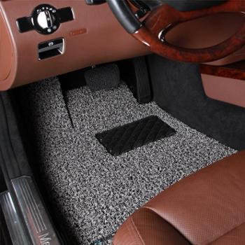 御马yuma脚垫君御系列丝圈汽车脚垫奔驰C200LE260GLK300/350GL450S400LE400LGLA专用脚垫