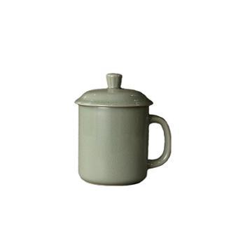 弘宝汝窑 粉青釉 将军杯 原产地汝瓷 礼盒包装