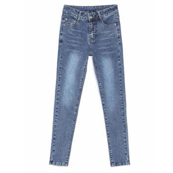 sandalling款修身显瘦长裤弹力百搭小脚裤子1630