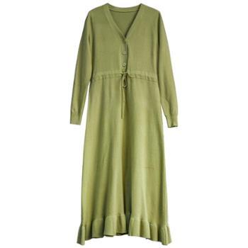 sandalling清晰淑女气质连衣裙8315
