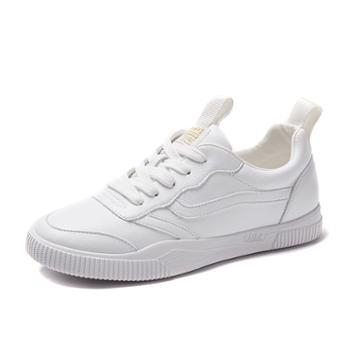 上匠风华 经典女子小白鞋1220-1