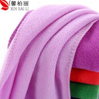 馨柏丽快干多用途毛巾4条超值装 柔软纳米吸水180克 30*70CM颜色随机