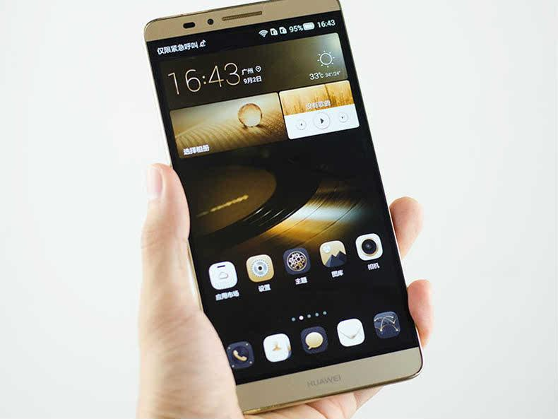 Huawei 华为 MT7 CL00 Mate7 6.0寸大屏双卡双待智能电信4G手机