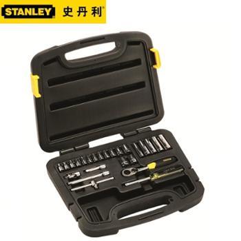 STANLEY/史丹利25件套6.3MM1/4系列公制组套94-183-22
