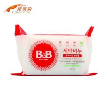 韩国保宁B&B婴幼儿洗衣皂(洋甘菊味)200g